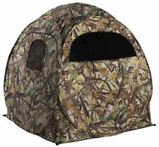 "Portable Camo Pop-Up Ground Hunting Blind with Backpack 60""x60""x65""! Deer Turkey"