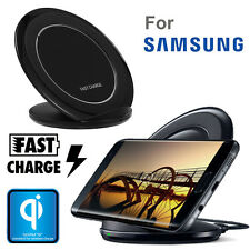 Wireless Qi Charging Stand Dock Pad Fast Charger for Samsung Galaxy S7 S6 Edge