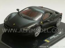 Ferrari 458 Italia Matt Black 1:43 HOT WHEELS X5503