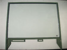 Military Truck Left Driver Side Door Window with Frame for M35, M809 PN 7529304
