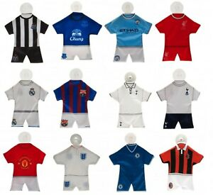 Football Team Mini Kit Hanging Car Window Sign Official Supporter