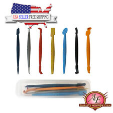 7 in 1 Vinyl Wrap Tool Kit Magnetic Micro Stick Squeegees Curve Slot Tint Tool