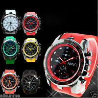 Men Stainless Steel Luxury Sport Watch Analog Quartz Modern Wrist Watch