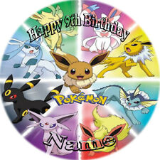 POKEMON REAL EDIBLE ICING  CAKE TOPPER PARTY IMAGE FROSTING SHEET