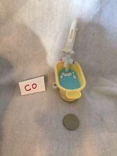 Littlest Pet Shop YELLOW BATH TUB Shower Playset Accessory LPS Toy
