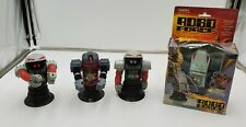 NIB Enemy The Dictator Robo Force Action Robot Figure + 3 Loose