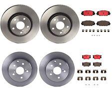 Front Rear Brembo Brake Kit Disc Rotors Ceramic Pads For Toyota RAV4 3 row seat