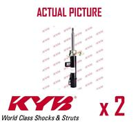 2 x NEW KYB FRONT AXLE SHOCK ABSORBERS PAIR STRUTS SHOCKERS OE QUALITY 334622