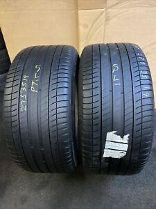 275 35 R 19 100Y XL XL Michelin Primacy 3 ZP * MOE Run Flat 2x Tyres BMW Mercede