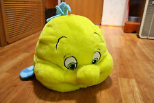 The Little Mermaid Special Edition Flounder Stuffed Plush w/ Compartment Disney