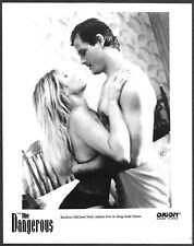~ Michael Pare Sherlyn Leonard Original 1995 Promo Photo The Dangerous
