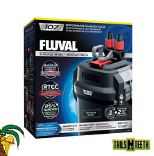 Fluval 107 Performance Canister Filter - for Aquariums Up To 30 US Gallons