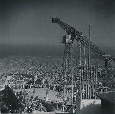 ESPAGNE c. 1950 - Manège  Le Tibidabo Parc d'Attractions  Barcelone  - Div 10296