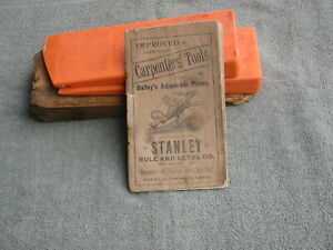 Old Stanley Rule and Level Company Catalogue