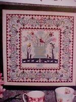 Rosewood Manor Phebe Warner Quilt by Karen Kluba Cross Stitch Graph Booklet