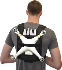 Digipower Shoulder Harness Backpack for DJI Phantom 3 2 1 Drones Black