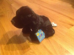 Retired BLACK LAB Webkinz - NEW with Sealed Code