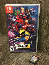 Nintendo Switch Marvel Ultimate Alliance 3: The Black Order Game Case Art Cover