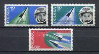 35703) Poland 1963 MNH Bykovski Tereshkova 3v Scott #