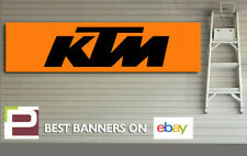 KTM Banner for Workshop, Garage, Pit lane, 1300mm x 325mm, Duke, 390, 125, xbow