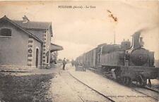 CPA 55 BUXIERES LA GARE (TRAIN GROS PLAN)  Visitez mes ventes d'autres Gare et c