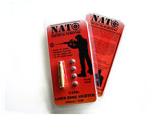 NATO Red Laser Bore Sighter .223mm 5.56 REM Rifle Scope Shooting Targets Range