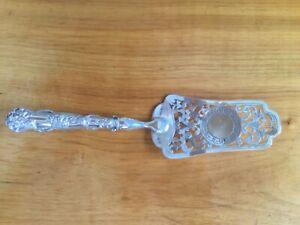 Sehr seltener Tortenheber, 84/875 Silber, RUSSLAND datiert 1877