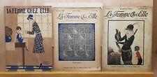 Ancien lot 3 Magazine la Femme chez elle N°:457 1929 N°:323 1923 N°: 386 1925