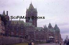 KODACHROME 35mm Slide Canada Quebec City Chateau Frontenac Boardwalk People 1975