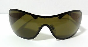 SALVATORE FERRAGAMO Luxury Sunglasses 1142 509/73 Wicker Frame Green Lens Italy
