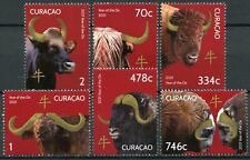More details for curacao year of ox stamps 2021 mnh chinese lunar new year 6v set