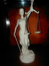 Lady Justice (Themis) Statuette. Mint Condition.