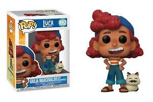 Funko Pop Disney Pixar Luca: Giulia Marcovaldo with Machiavelli Vinyl #55764