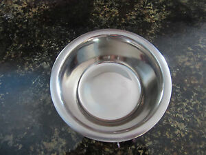 Stainless Steel pet bowls fits most Snack-N-Perch perches, cat,dog feeder dish