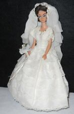 Vintage Doll Lot Barbie Fashion Queen Bride Wig Japan Shoes Fashion 1962 #870