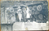 1915 Realphoto Postcard: Stage Play/Revue/Theatre - People Dressed as Flowers
