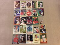 HALL OF FAME Baseball Card Lot 1974-2020 LUIS APARICIO JOHNNY BENCH RALPH KINER+