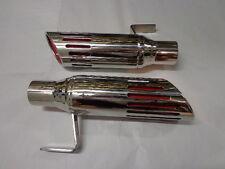 71-74 Mopar B Body Road Runner GTX Charger 2-1/4 Stainless Exhaust Tips