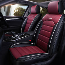 Car Seat Covers 5-Sit PU Leather Accessories Universal Auto SUV Interior Cushion