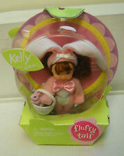 #7490 Nrfb Mattel Easter Fluffy Tail Kelly Redhead as Pink Bunny