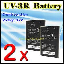 2x Baofeng Original Li-ion 1200mah Batería Para Uv-3r