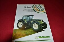 Hurlimann H-6165 H-6190 Master Tractor Dealers Brochure  LCOH