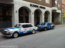 SAAB 96 900 99 TURBO COMBI WRC GRAPHICS