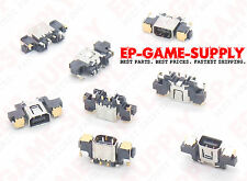 NEW Nintendo 3DS XL Power Jack Charge Charger Port Socket Gold Replacement Part