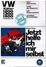 Manuale di riparazione LIBRO Jetzt helfe ich mir da sè VW BEETLE 1200 1300 1500