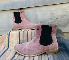 Pink Ankle Boots by Superdry Size 5 Shoes, Boots, Summer, Winter, Comfy,