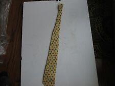 100% Silk  Racing Colors Alynn Neckwear 1994 Yellow