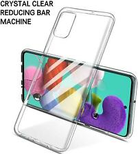 For Samsung A10 A40 A50 A51 A71 Clear Phone Case Shockproof Silicone Gel Cover
