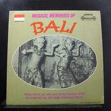 The Gamelan Orchestra From Pliatan - Musical Memories Of Bali LP VG+ TW.91308