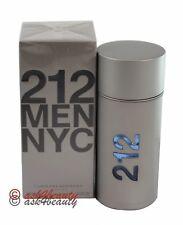 212 NYC By Carolina Herrera 3.4oz/100ml Edt Spray For Men New In Box